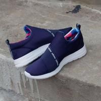 Sepatu Pria Original Adidas Slipon Refine Navy