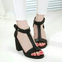 high heels hak tahu wanita sepatu sandal casual TRIYOS