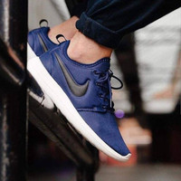 1853e9489a5c Sepatu Nike Roshe Two   Roshe Run 2 Midnight Navy
