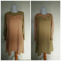 Baju,pakaian atasan wanita tunik muslim ukuran XL