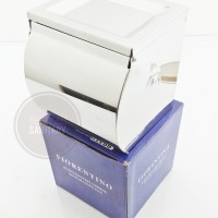 Tempat tissue toilet stainless + asbak stainless