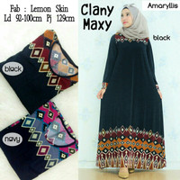 Grosir/Eceran Murah Baju Maxi Dress Clany