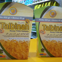 Jual Talbinah resep Thibb Nabawy 400gr + 40 gr Tepung Gandum New Design Murah