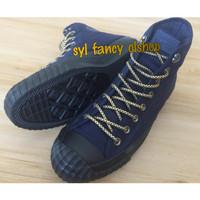 sepatu converse bosey leather Navy Original made in China