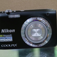 Nikon Coolpix S 2900 paket Memory 16GB + Hardcase + Screen Protector