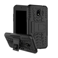 Hard Soft Case Samsung J2 PRO Casing HP Armor Stand Silikon Softcase