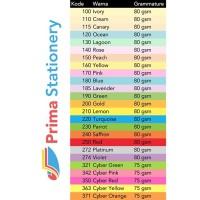 Harga kertas hvs warna paperfine plano warna   Pembandingharga.com