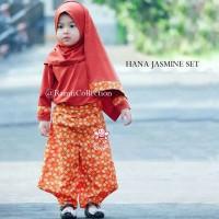 baju anak model trendy l hijab anak-anak l hana