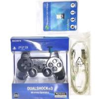 Jual Stik Ps3 + Kabel Usb + Bluetooth V4 ( Joystick / Gamepad /