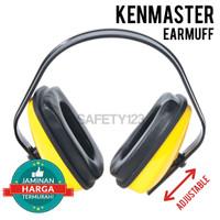 Kenmaster Ear Muff Penutup Telinga Kuping Earmuff Peredam Suara Kuning