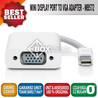 Apple Mini Display Port to VGA Adapter - MB572