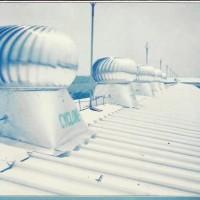 """Cyclone turbine ventilator 18"""" aluminium kualitas teknologi jepang"""