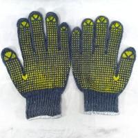 sarung tangan kain bintik gelap dotting gloves kerja industri motor