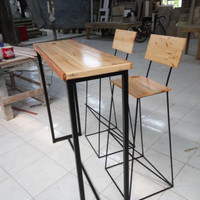 Meja bar tinggi set / Bar stool
