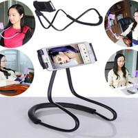 LAZY NECK Holder Smartphone Stand Mount - Holder HP Leher