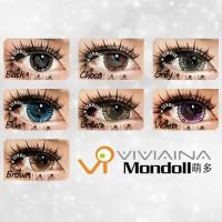 Promo Acessoris warna mata  Softlens Viviaina Mondoll Green Hijau