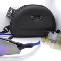 kacamata oakley sport Radar EV 5 lensa full set