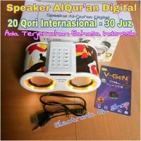 JUAL MURAH speaker alquran digital mp3 20 qori 30 juz ada terjemahan