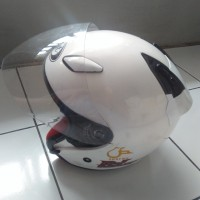 Helm KYT dj maru putih
