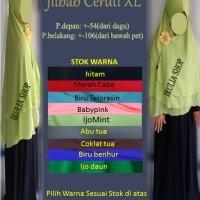 Jilbab Ceruti Layer Pet / XL