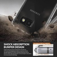 Case Fibre Anti Crack Samsung A310 A36 A3 2016 Softcase Anti Shock