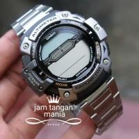 PROMO Jam tangan CASIO DUAL SENSOR SGW-300 HD STAINLESS MURAH