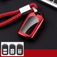 Car Key Cover Smart Key + Keychain for CRV, Civic, Jazz, HRV, Accord