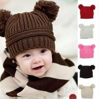 Topi Rajut|Kado|Bayi|Baby|Batita|Balita|Anak|Keren|Unik|Lucu|Bola