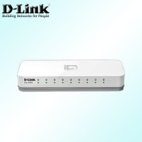 D-LINK DES-1008C 8-Port 10/100 Mbps Unmanaged Switch