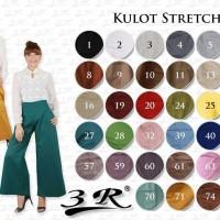 Kulot Stretch Cotton Pants 3R JUMBO Fit 3XL