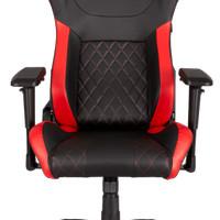 CORSAIR T1 RACE Gaming Chair Black/Red - Kursi Gaming