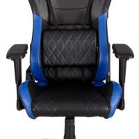 CORSAIR T1 RACE Gaming Chair Black/Blue - Kursi Gaming