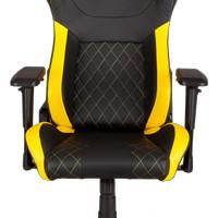 CORSAIR T1 RACE Gaming Chair Black/Yellow - Kursi Gaming