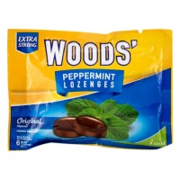 Woods Candy Peppermint Lozenges Extra Strong Sct 15 gram