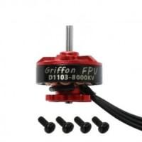 GriffonFPV D1103 8000KV 1-3S Racing Brushless Motor (1.5mm Shaft)