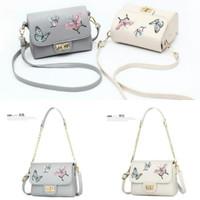 UT1896 - 1897 butterfly bordir tas import bag batam/sling bag/hand bag