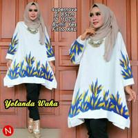 xxl xl jumbo big size tunik bumil busui blouse baju atasan muslim blus