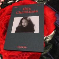 Jual SNSD Girls Generation Taeyeon This Christmas Album Only Murah
