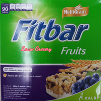 Fitbar Fruits 120gr/Fitbar Buah Isi 5pc 120gr/Snack Sehat Fitbar Fruit