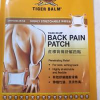 Tiger balm Back Pain Patch asli Singapore