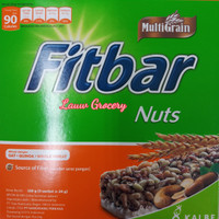 Fitbar Nuts 120gr/Fitbar Kacang Isi 5pc120gr/Fitbar/Snack Sehat Fitbar