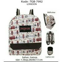 Tas Ransel Jansport Motif London