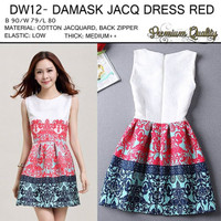 DW12 BAJU WANITA IMPORT DRESS FASHION HONGKONG BANGKOK KOREA SALE