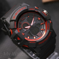 Jam Tangan Pria Gshock Double Time DT Tali Rubber/Karet Kw Super