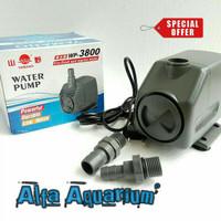 Jual Pompa Air Aquarium Besar WP 3800 Kolam Koi Watt ...
