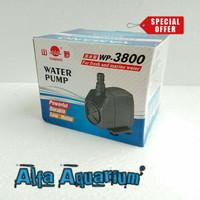 Pompa Air Aquarium Besar WP 3800 Kolam Koi Watt Paling Kecil WP3800