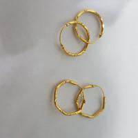 anting dewasa emas asli kadar 700 setengah gram