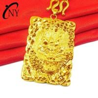 Harga liontin kirin ornamen unicorn bahan tembaga lapis emas | Pembandingharga.com