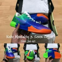 Sepatu basket Nike Kobe mentality 3 seven colour grade Original Murah