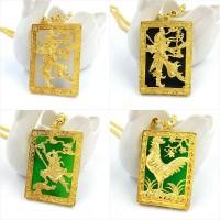 Harga liontin motif ayam and guan yu lapis | Pembandingharga.com